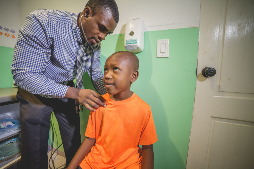 Over 4,500 Children Seen at Medical Clinic